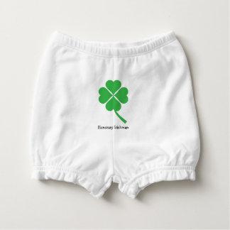Four-leaf clover nappy cover
