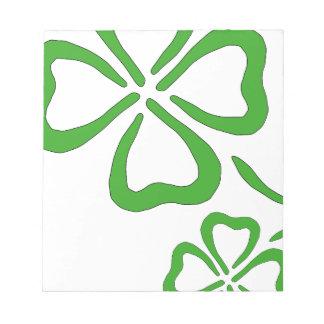 Four-Leaf-Clover Notepads