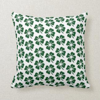Four Leaf Clover Pattern Cushion