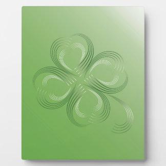Four Leaf Clover Plaque