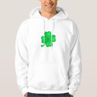 Four-leaf clover sheet hoodie