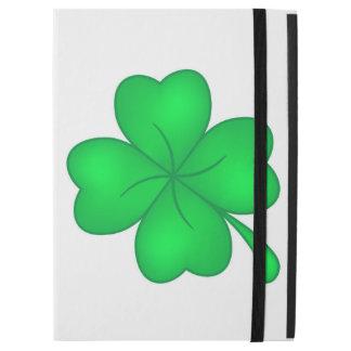 "Four-leaf clover sheet iPad pro 12.9"" case"