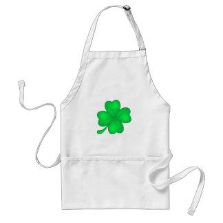 Four-leaf clover sheet standard apron