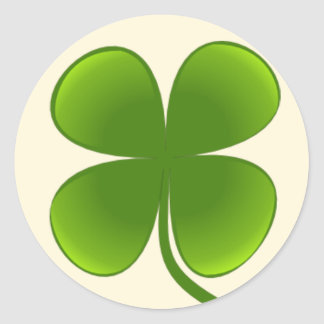 Four-Leaf Clover - Sticker