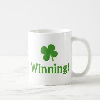 Four Leaf Clover Winning Mug