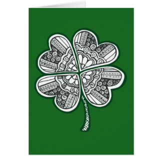 Four Leave Clover 1 Card