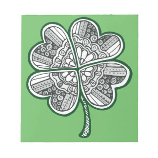Four Leave Clover 1 Notepads