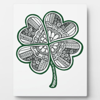 Four Leave Clover 1 Photo Plaques