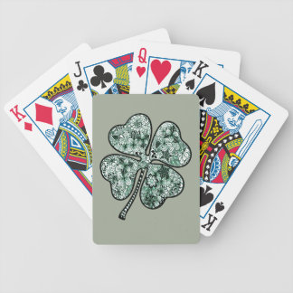 Four Leave Clover 2 Bicycle Playing Cards