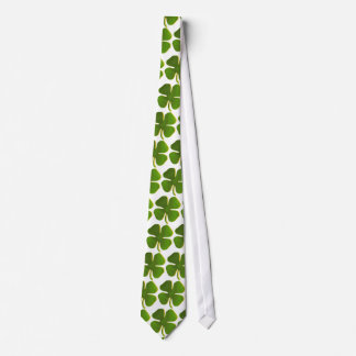 Four Leave Clover Tie