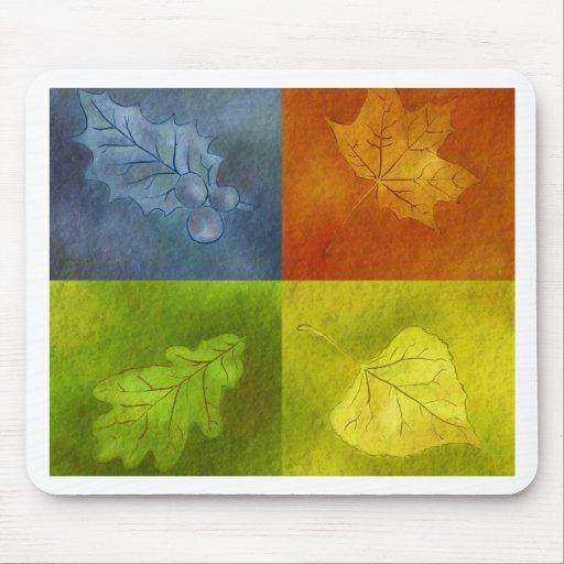 Four Leaves for Four Seasons Mousepad
