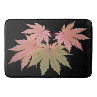 Four Leaves on a Twig Bath Mat