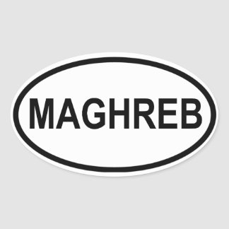 FOUR Maghreb Oval Sticker