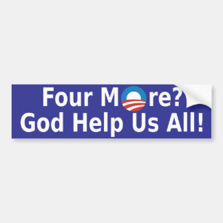 Four More Bumper Sticker