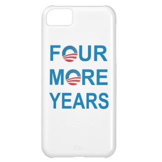 FOUR MORE YEARS - Barack Obama 2012 iPhone 5C Case