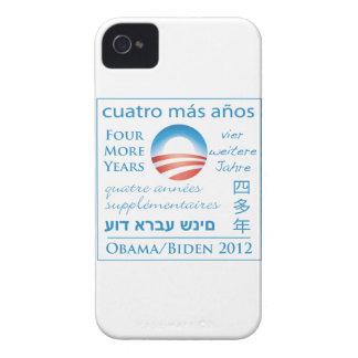 Four More Years for Obama/Biden iPhone 4 Case-Mate Case