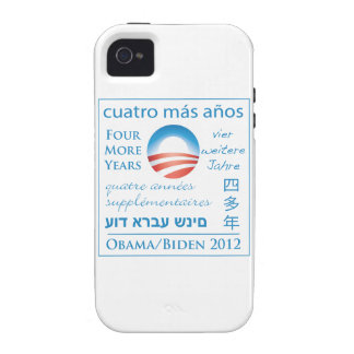 Four More Years for Obama/Biden iPhone 4/4S Cover