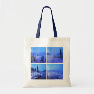 Four Photo Collage Tote Bag