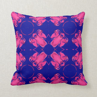 Four Pink Angels By Circle Cushion
