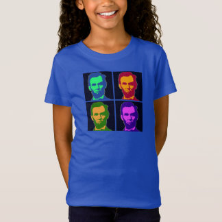 Four Pop Art Abraham Lincolns T-Shirt