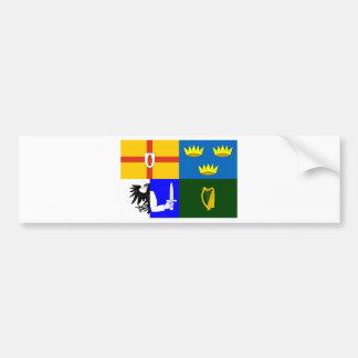 Four_Provinces_Flag Bumper Sticker