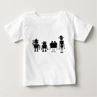 Four Robots Baby T-Shirt
