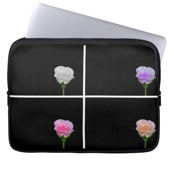 Four Roses Laptop Sleeve