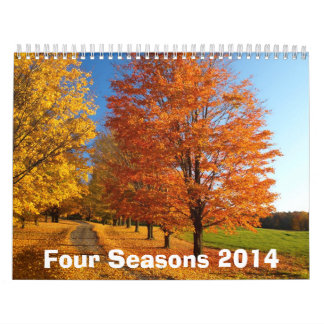 Four Seasons 2014 Calendar
