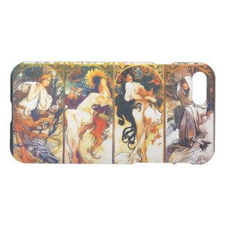 Four Seasons 3 vintage Mucha iPhone 7 Case