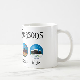 Four Seasons At The Cemetery Mugs