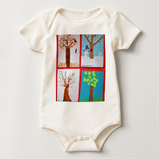 Four Seasons Baby Bodysuit