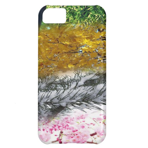 Four Seasons Cover For iPhone 5C