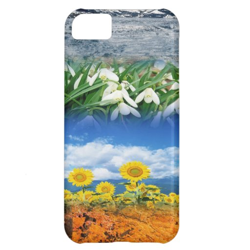 Four Seasons Case For iPhone 5C