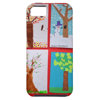 Four Seasons iPhone 5 Covers