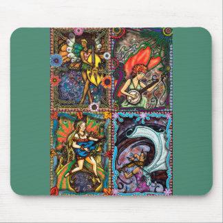 Four Seasons mouse pad