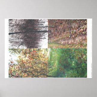 """Four Seasons"" Poster"