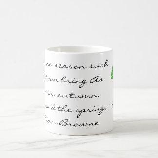 Four Seasons Quote Mug