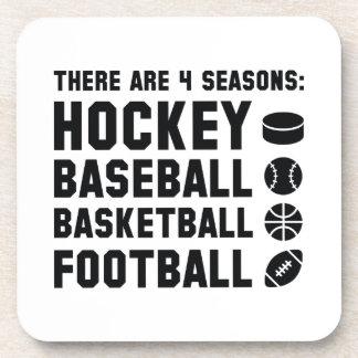 Four Seasons Sports Coaster
