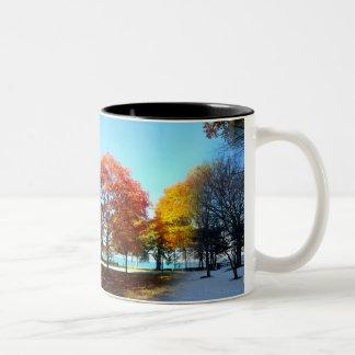 Four Seasons Two-Tone Coffee Mug