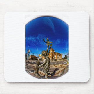 Four Spirits Mouse Pad