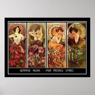 Four Stones Print