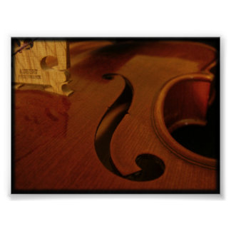 Four-string Wonder Print