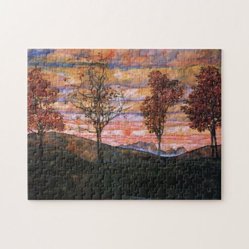 Four Trees Jigsaw Puzzles