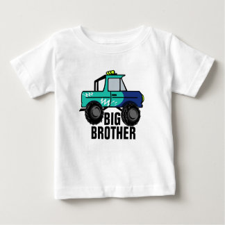 Four Wheel Fun / Big Brother Baby T-Shirt