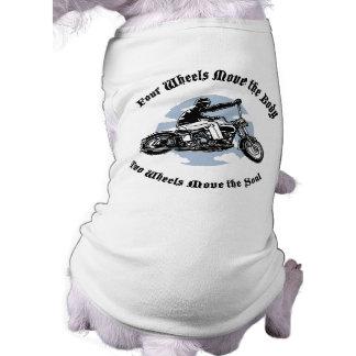 Four Wheels III Sleeveless Dog Shirt