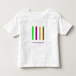 Four Year Old Birthday T Shirt