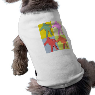 Four Zombies Style Sleeveless Dog Shirt