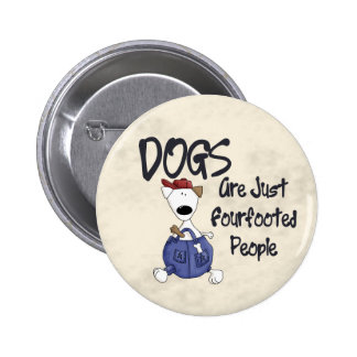Fourfooted People Buttons