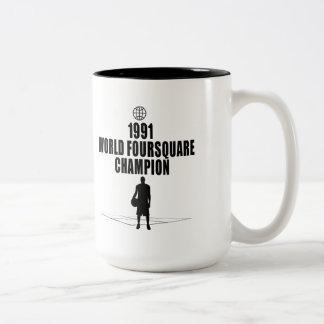 Foursquare Champion Coffee Mug