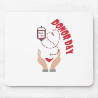 Fourteenth February - Donor Day - Appreciation Day Mouse Pad
